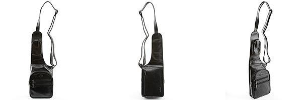 как выбрать и купить кожаную мужскую сумку кобуру на 2чемодана.ру 2chemodana.ru