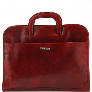 Папка мужская кожаная Tuscany Leather, Sorrento TL141022 red — 2chemodana