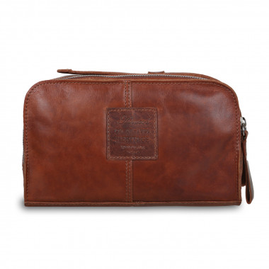 Несессер Ashwood Leather 1667 AL1667/108 Chestnut — 2chemodana