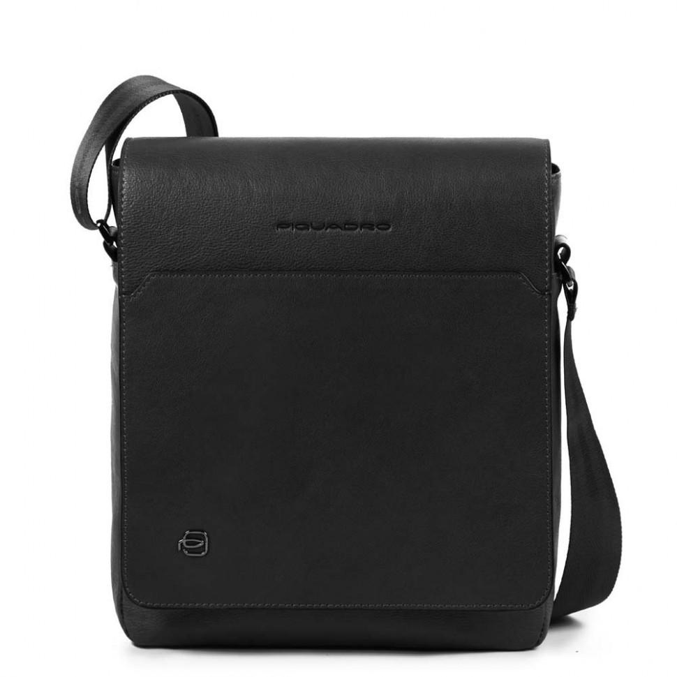 9ecdb4074c33 Мужская кожаная сумка Piquadro CA1593B3/N черная фото 1 — 2chemodana