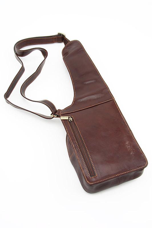 17bf398559ef ... 1 — 2chemodana Кожаная мужская сумка туриста Tony Perotti Italico  331015/2 коричневый фото 2 — 2chemodana ...