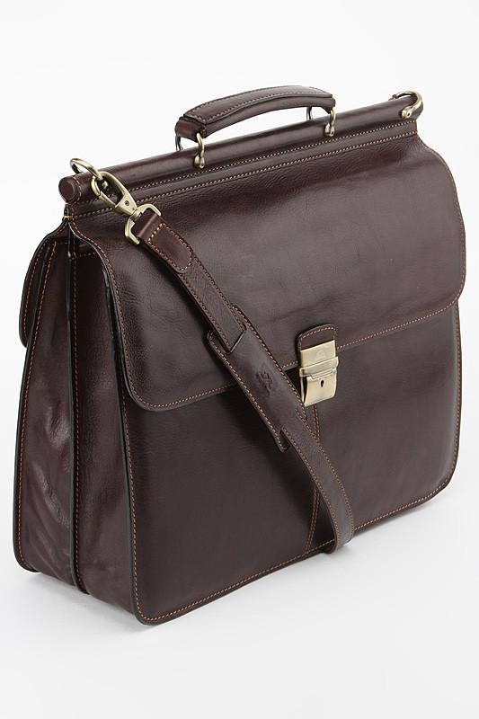 ee66308dd740 Портфель мужской кожаный Tony Perotti 331210/2, коричневый, Портфель ...