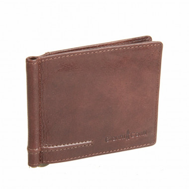 Зажим для купюр Gianni Conti 707466 brown — 2chemodana