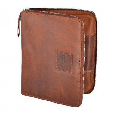 Папка Ashwood Leather 1660 AL1660/108 Chestnut — 2chemodana
