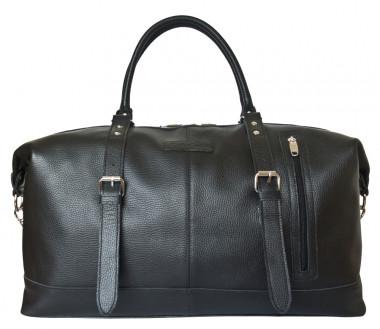 f7fc2830d05a Кожаная дорожная сумка Carlo Gattini Classico Campora 4019-01 black —  2chemodana