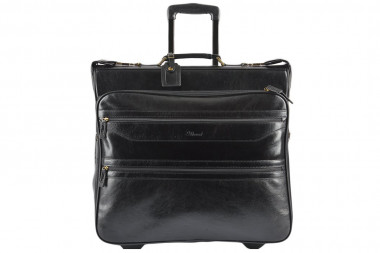 Портплед Ashwood Leather 63421 AL63421/101 Black — 2chemodana