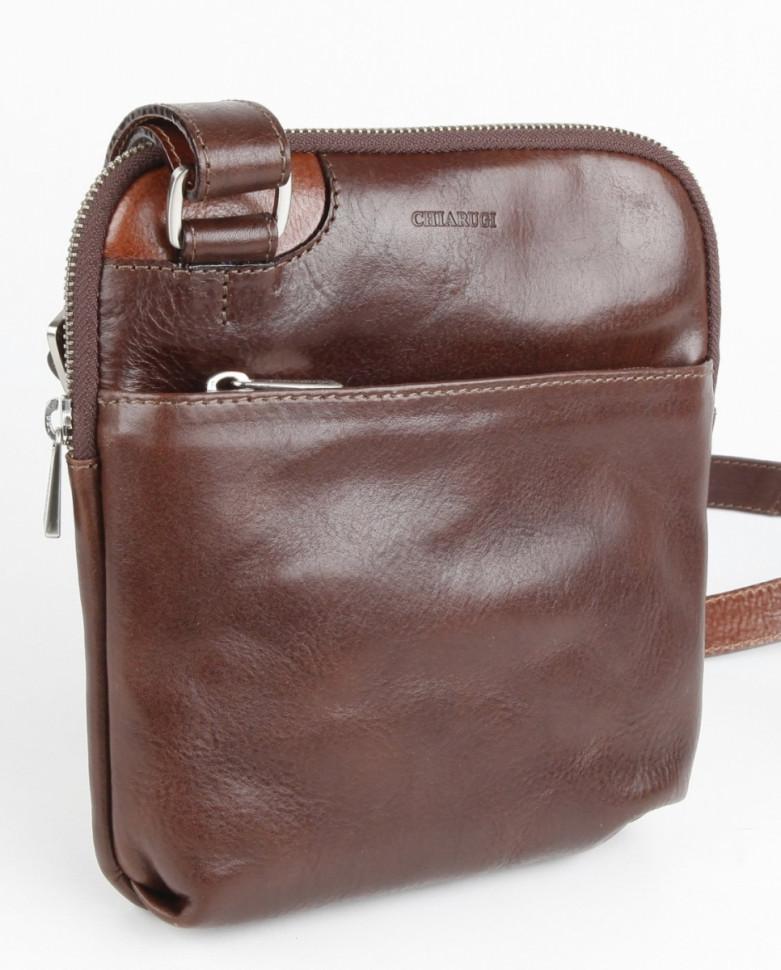 c1b592123fbe Мужская сумка через плечо Chiarugi 92631 коричневый фото 1 — 2chemodana