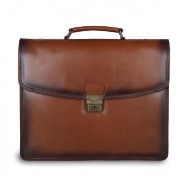 Портфель Ashwood Leather Orlando ALOrlando/106 Tan — 2chemodana