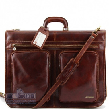 Портплед кожаный Tuscany Leather, TAHITI TL3030 brown — 2chemodana